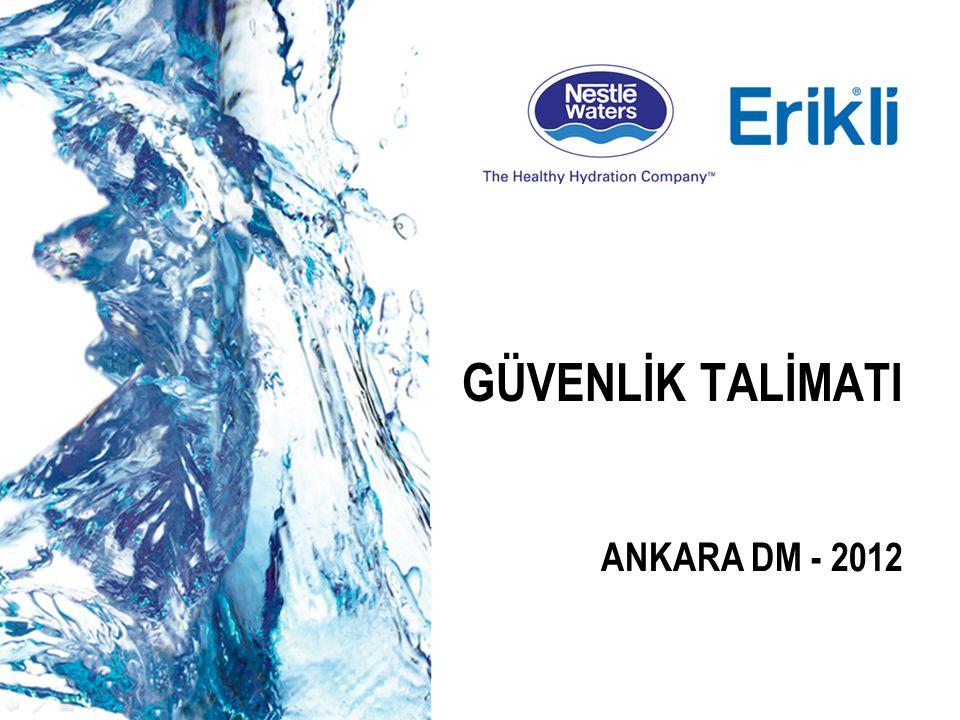 GÜVENLİK TALİMATI ANKARA DM - 2012
