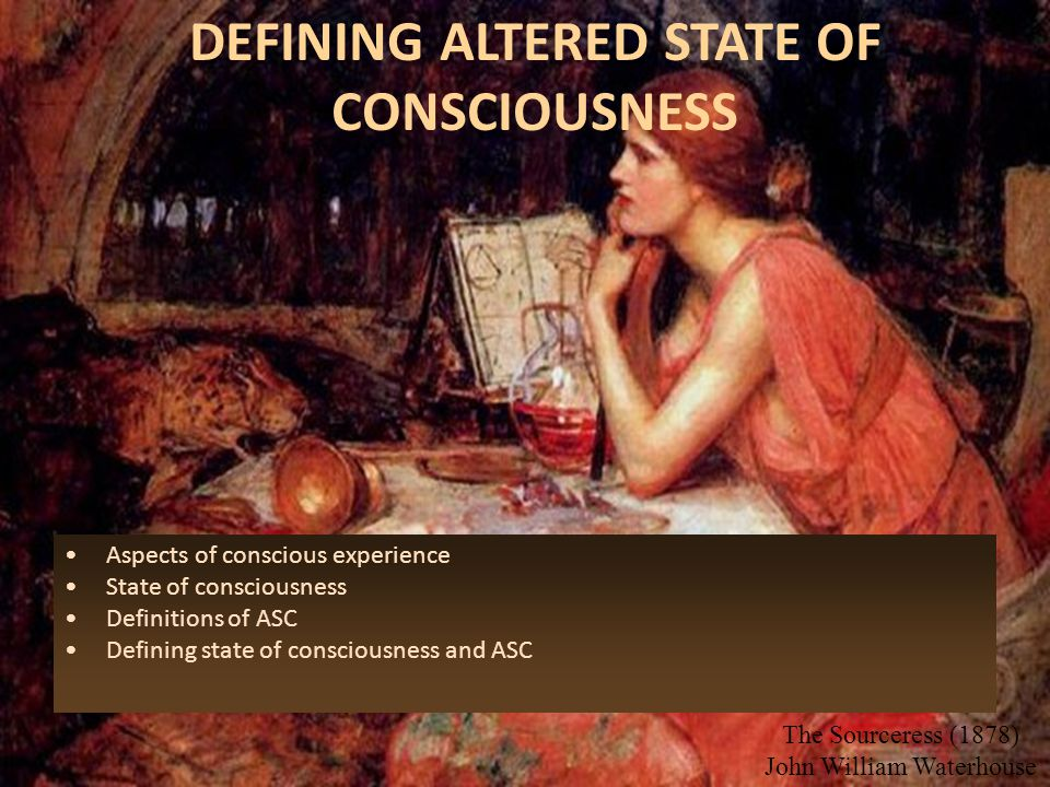 Specific Theories of Consciousness Although there are many general metaphysical/ontological theories of consciousness, the list of specific detailed t
