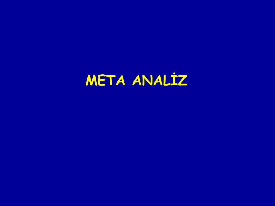 META ANALİZ