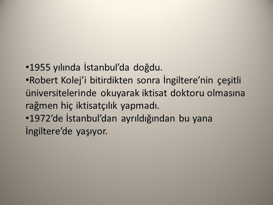 1955 yılında İstanbul'da doğdu.