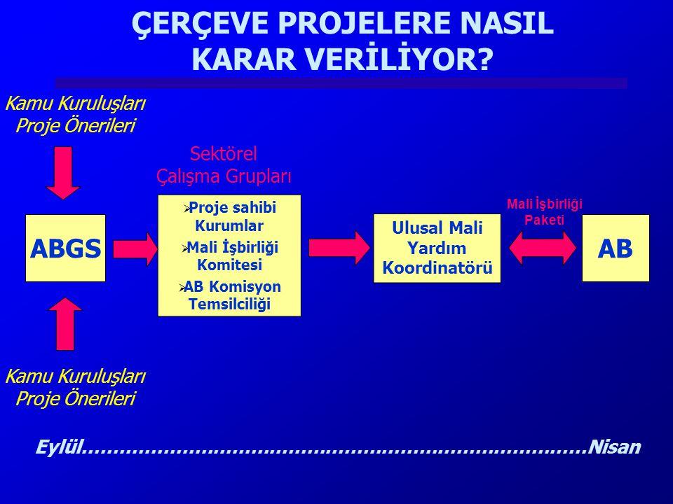 KATILIM ÖNCESİ MALİ YARDIM Aralık 2002 Kopenhag Zirvesi : Türkiye'ye yapılan mali yardımlar artırılacak...