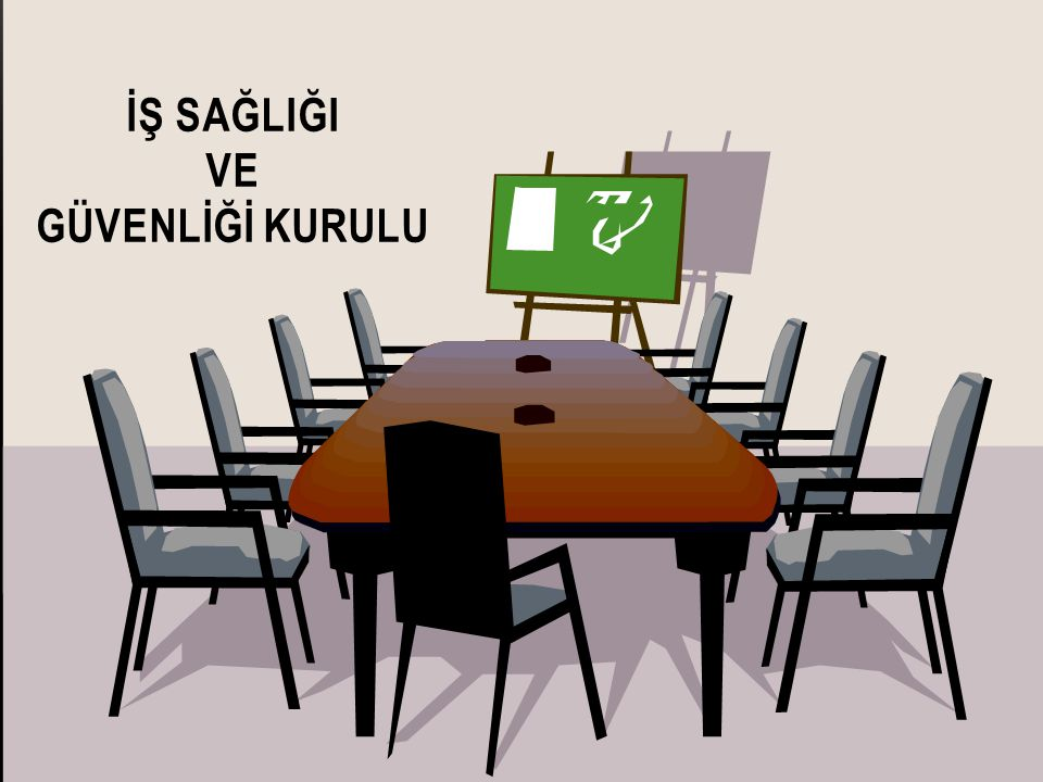 İŞVERENİN VEYA İŞVEREN VEKİLİNİN KURULA İLİŞKİN GENEL YÜKÜMLÜLÜĞÜ (1) İşveren veya işveren vekili, kurul için gerekli toplantı yeri, araç ve gereçleri sağlar.