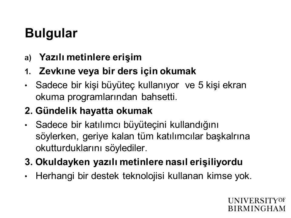 Bulgular 4.
