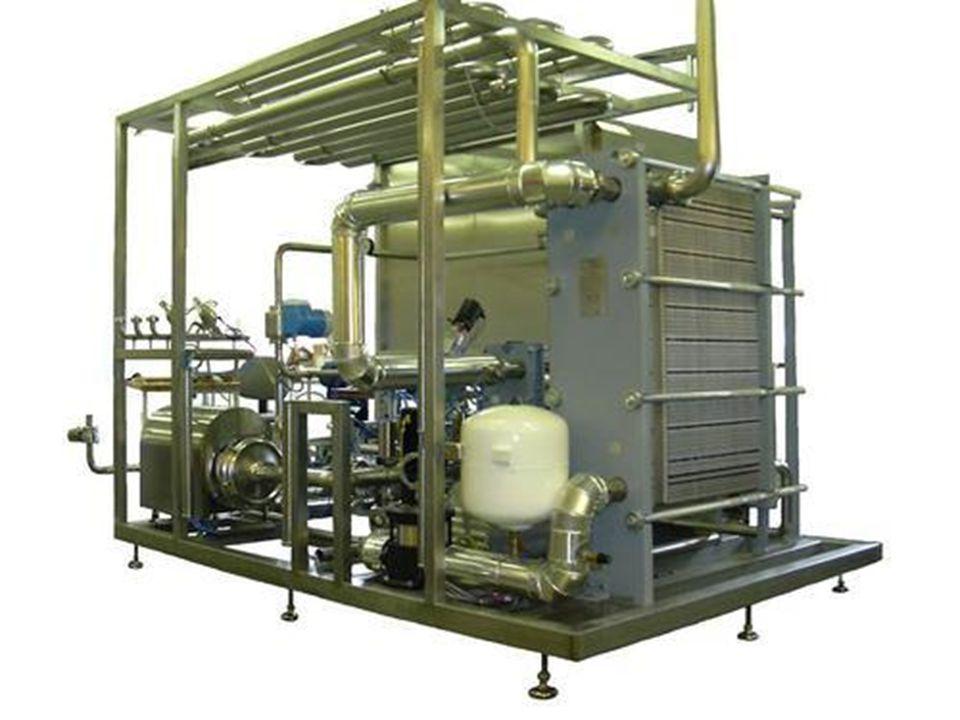 ► Böylece steril sistemde sterilize olan ve steril şekilde soğuyan meyve suyu,KZE tankına 20CDE ulaşır.