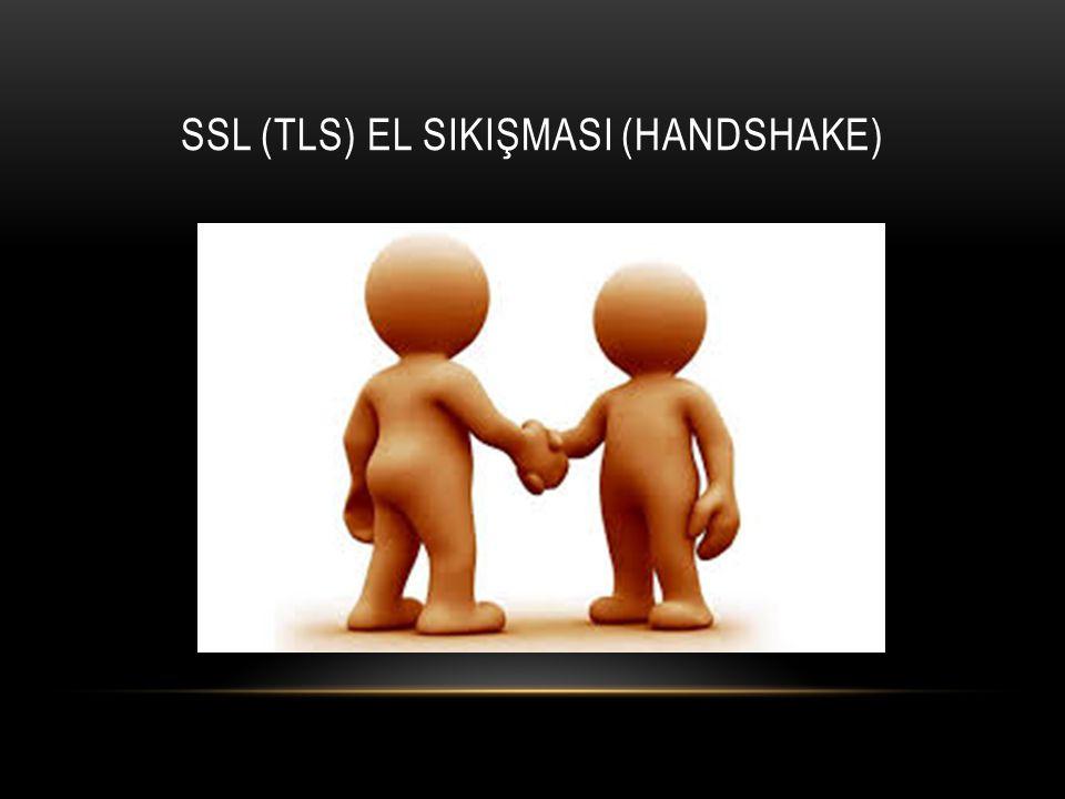 SSL (TLS) EL SIKIŞMASI (HANDSHAKE)