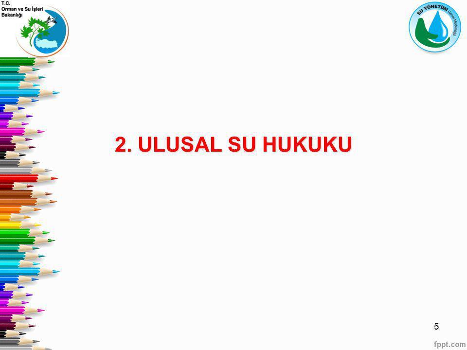 2. ULUSAL SU HUKUKU 5