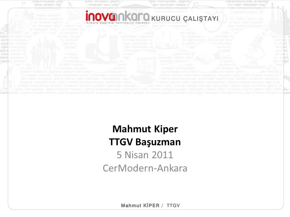 Mahmut Kiper TTGV Başuzman 5 Nisan 2011 CerModern-Ankara