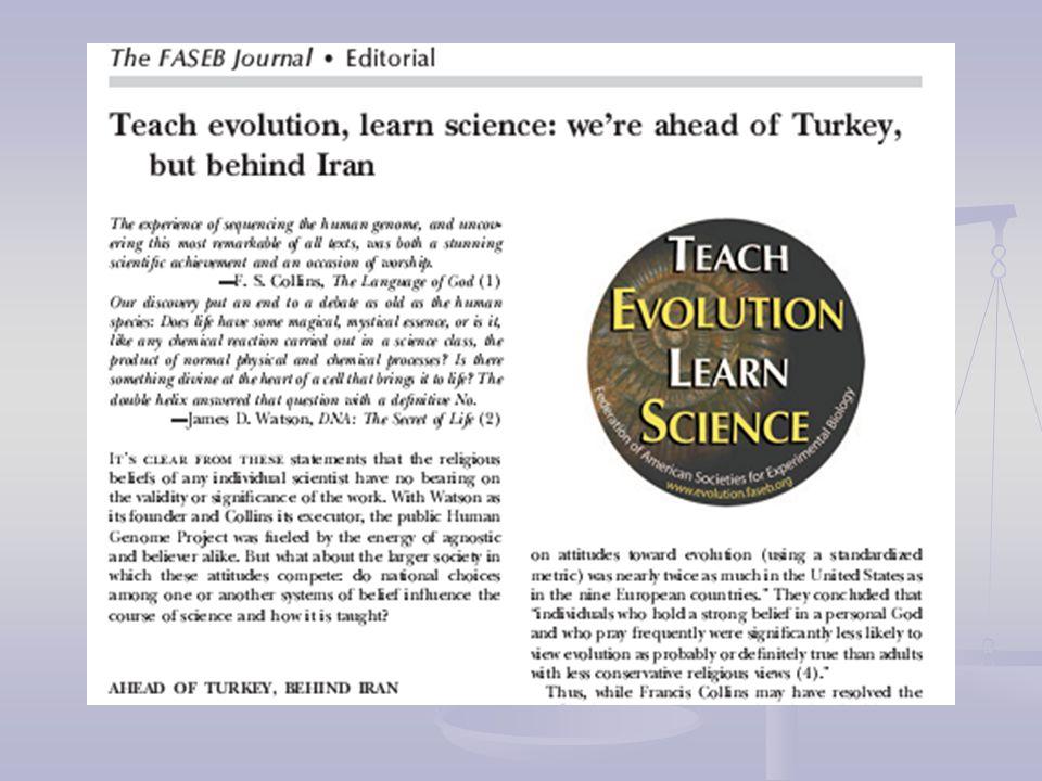 Araştırmaya katılan öğretmen adayları Modern insan haricinde tüm canlıların evrimsel süreçlere tabii tutularak evrimleştiği fikrini kabul ederken, insanlığın evrimleşmesi fikrine katılmadıkları görülmektedir Evrim teorisinin fosil, tarihsel veriler gibi dolaylı kanıtlar ile desteklendiğini kabul etmelerine karşın bilimsel olarak test edilmeye uygun olmadığını savundukları görülmektedir.