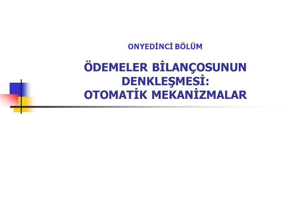 12 I.OTOMATİK FİYAT DENKLEŞMELERİ C.