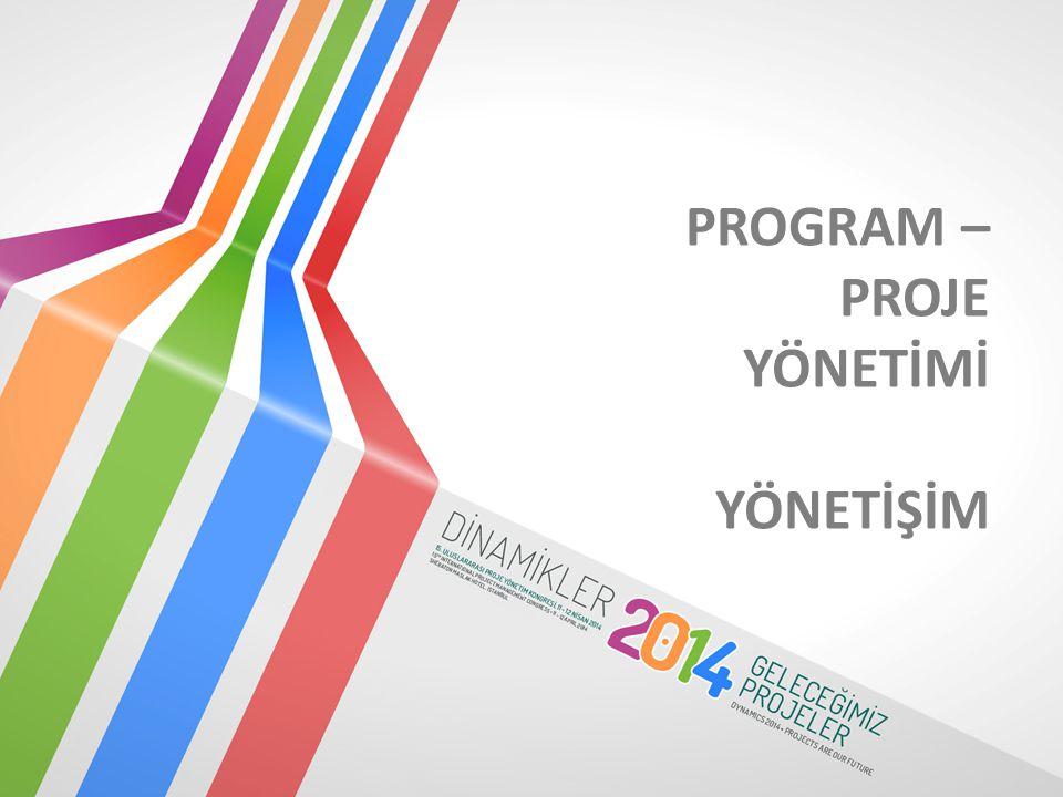 Program Yönetimi Proje Yönetimi Yönetişim NELER KONUŞACAĞIZ