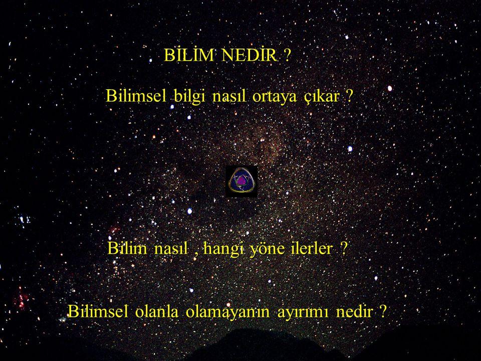 Güneş merkezli evren  Ay yerin uydusudur  Yerin kendi etrafında dönmesi ; Gece ve gündüz  Yerin güneş etrafında dönmesi ; Mevsimler Kopernik 1473