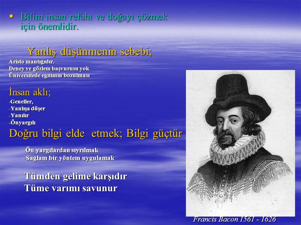  Bilim insan refahı ve doğayı çözmek için önemlidir.