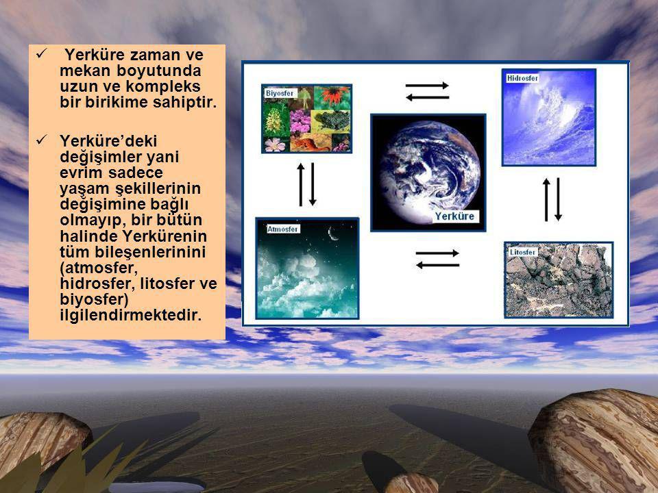 Yerküre yaşamı nasıl şekillendirdi .Yaşam yerküreyi nasıl şekillendirdi.