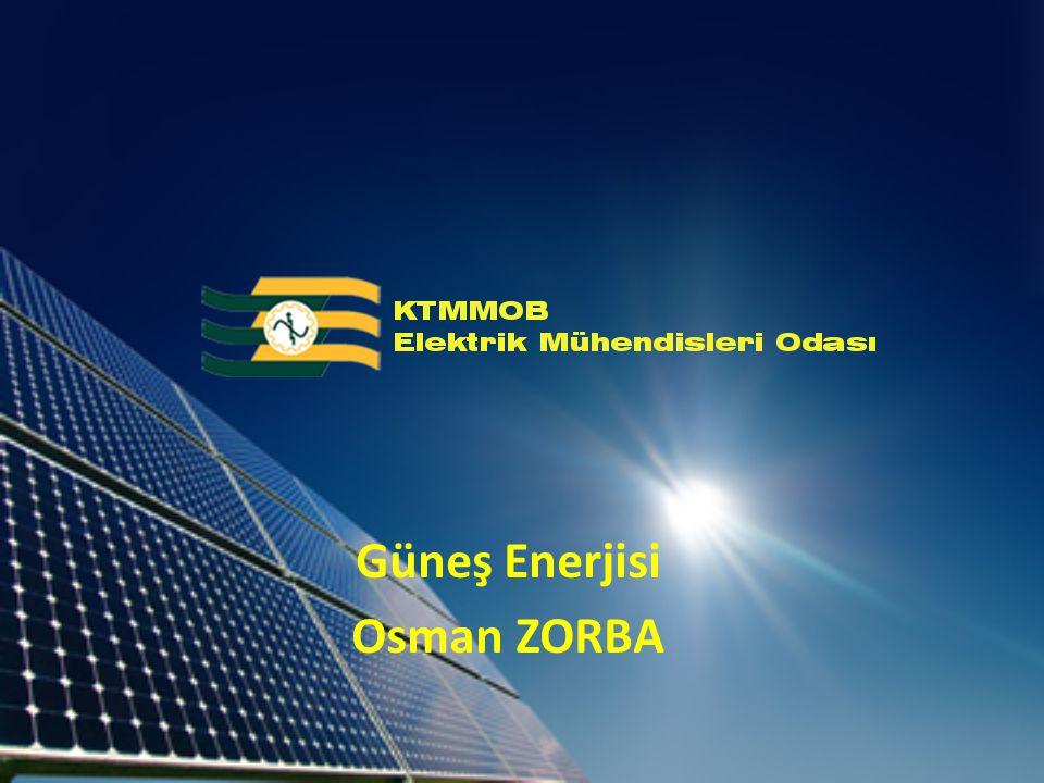 Güneş Enerjisi Osman ZORBA