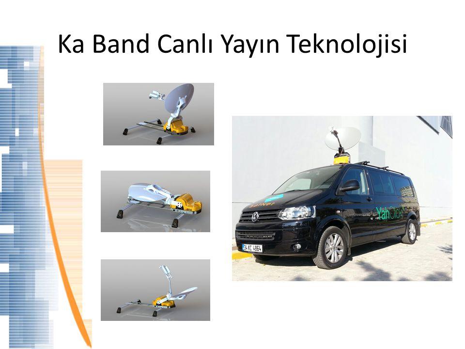 Ka Band Canlı Yayın Teknolojisi