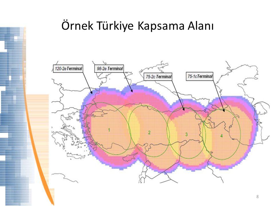Örnek Türkiye Kapsama Alanı 8