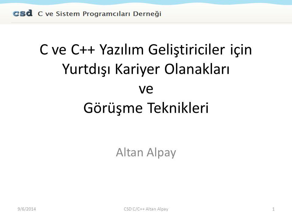 STL Kitapları 9/6/201462CSD C/C++ Altan Alpay