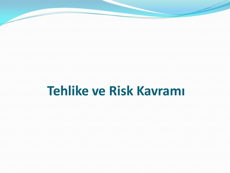 Tehlike: İşyerinde var olan yada dışarıdan gelebilecek, çalışanı veya iş yerini etkileyebilecek zarar veya hasar verme potansiyeli.