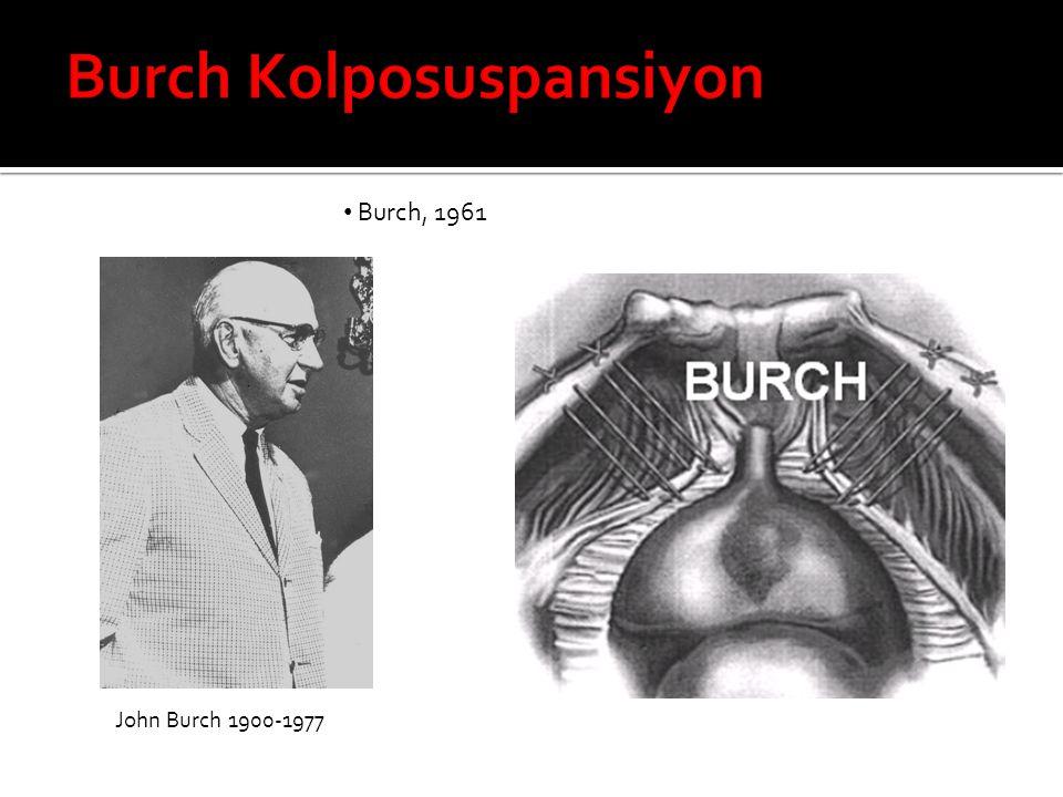 Burch, 1961 John Burch 1900-1977