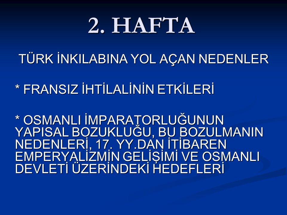 ISLAHAT HAREKETLERİ * IV.