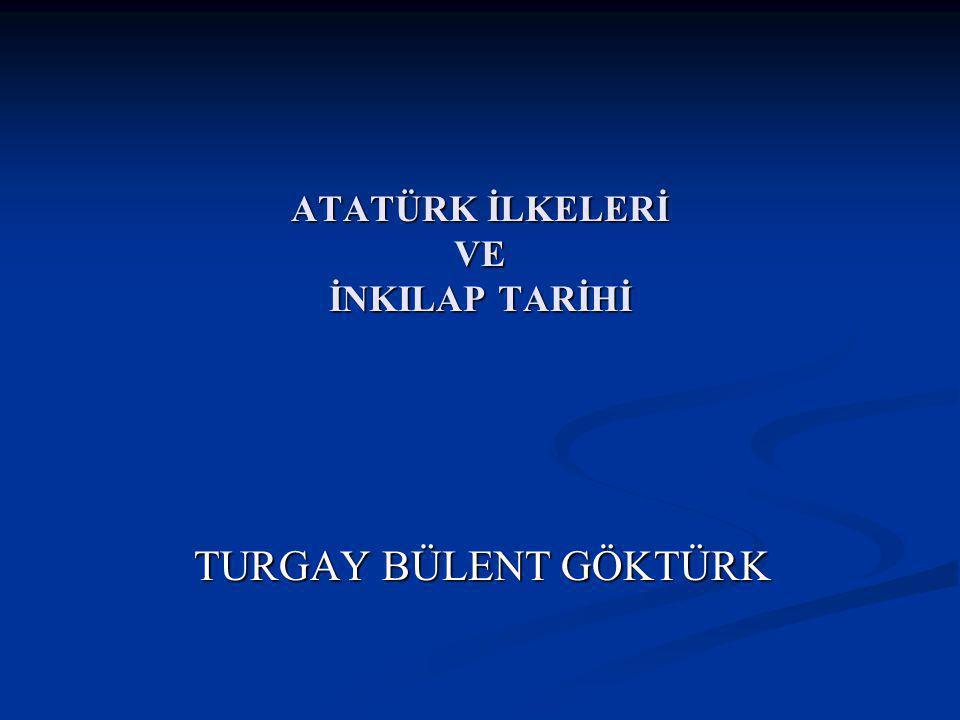 MONDROS ATEŞKES ANTLAŞMASI Antlaşmanın Önemi: Bu antlaşma ile Osmanlı Devleti fiilen sona ermiştir.