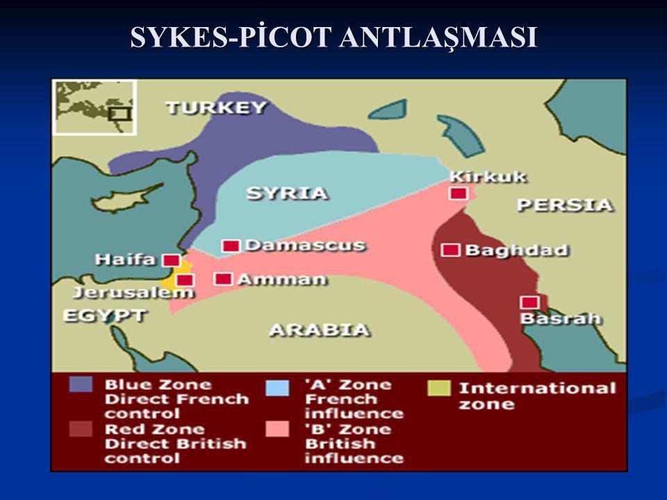 SYKES-PİCOT ANTLAŞMASI