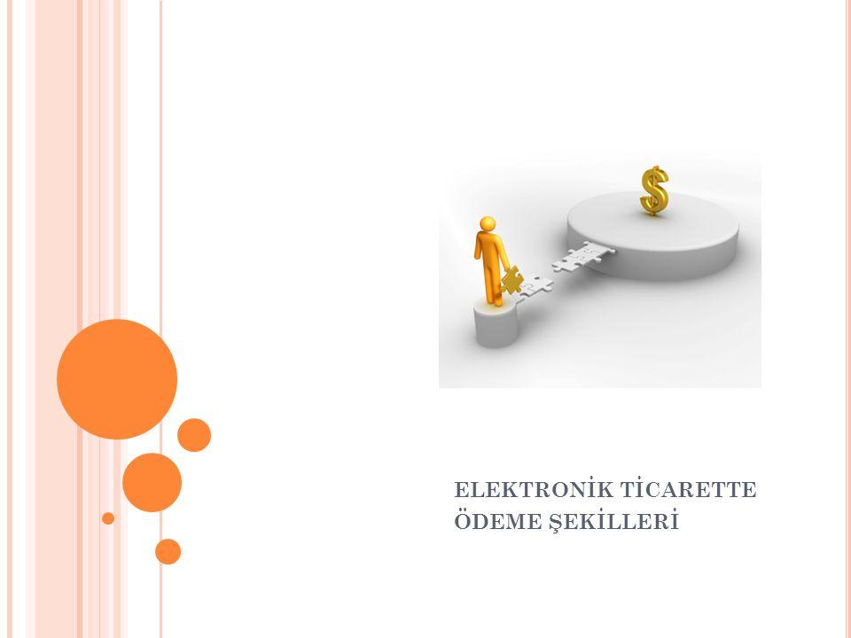 ELEKTRONİK PARA Genellikle internette kullanılmak üzere geliştirilmiş para birimidir.
