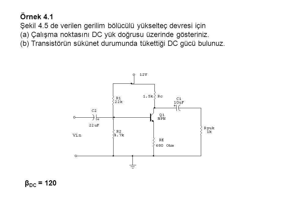 I C(sat) = = 5.5 mA VCE(kesim) = 12 V = Q1 NPN 12V RE 0.68k Rc 1.5k R2 4.7k R1 22k VE = VB – VBE = 2.11V – 0.7V = 1.41 V