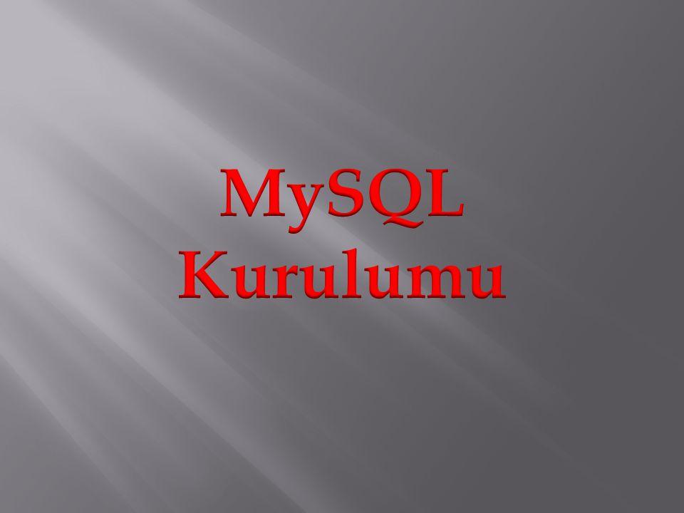 MySQL Download Islemleri
