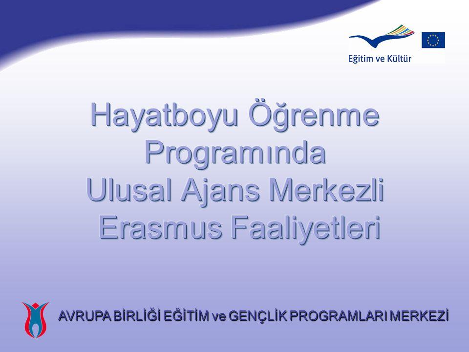 Yeni Dönemde Erasmus : 2007-2013 KALİTE ve HACİMDE ARTIŞ Öğrenci ve Personel Hareketliliği Yükseköğretim Kurumları Arasında Çoktaraflı Ortaklıklar Yükseköğretim Kurumları ile İş Dünyası İşbirliği ŞEFFAFLIK ve UYUM KALİTE ve HACİMDE ARTIŞ Öğrenci ve Personel Hareketliliği Yükseköğretim Kurumları Arasında Çoktaraflı Ortaklıklar Yükseköğretim Kurumları ile İş Dünyası İşbirliği ŞEFFAFLIK ve UYUM