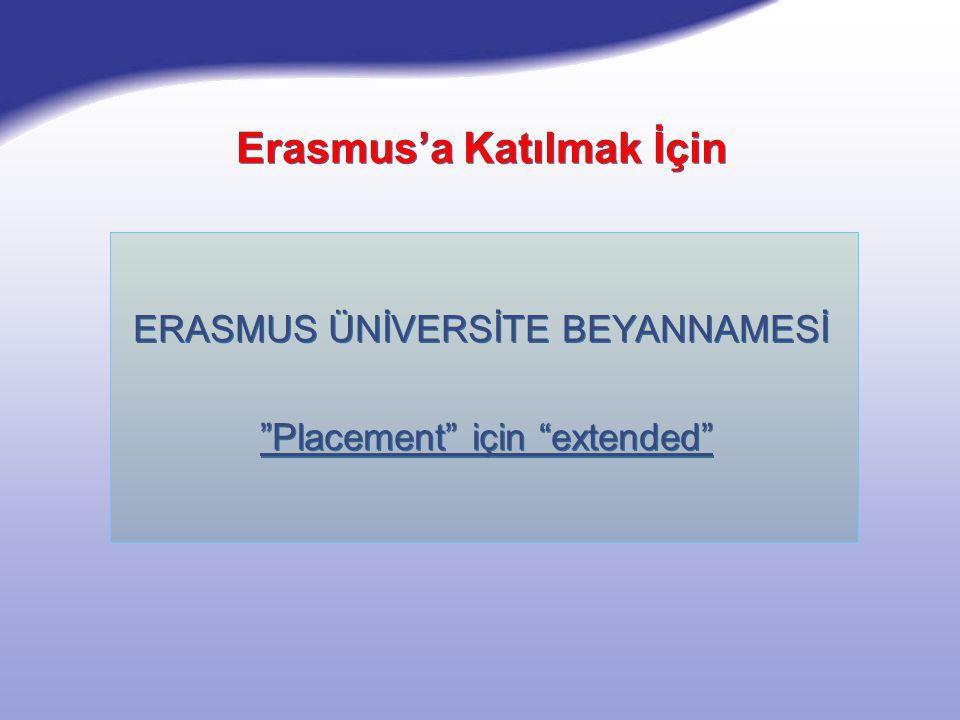 STUDENT MOBILITY ÖĞRENCİ HAREKETLİLİĞİ  Study - Değişim  Placements - Yerleştirme  Study - Değişim  Placements - Yerleştirme