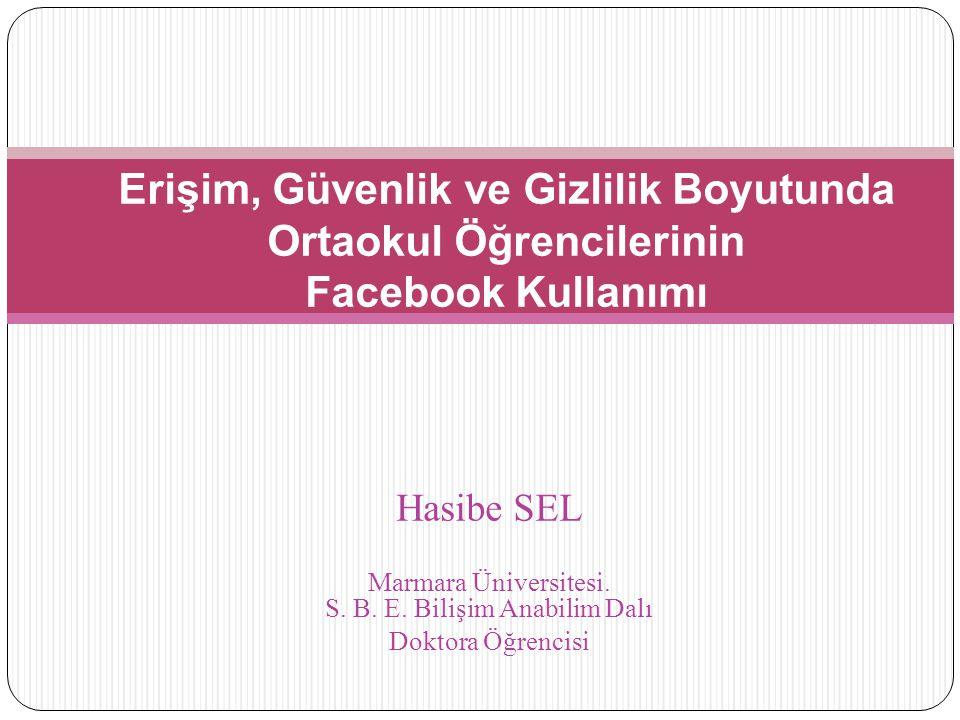 Hasibe SEL Marmara Üniversitesi.S. B. E.