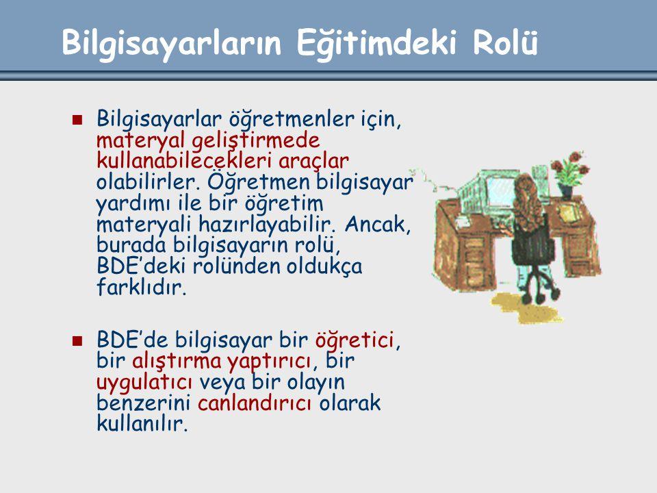 Türkiye'de BDÖ 1980'lerde ortaöğretim kurumlarına 1100 mikrobilgisayar alınmakla başlamıştır.
