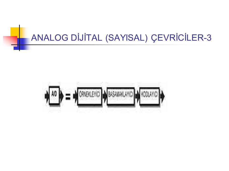 ANALOG DİJİTAL (SAYISAL) ÇEVRİCİLER-3