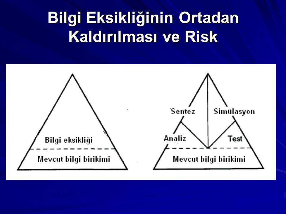 Bilgi Eksikliğinin Ortadan Kaldırılması ve Risk