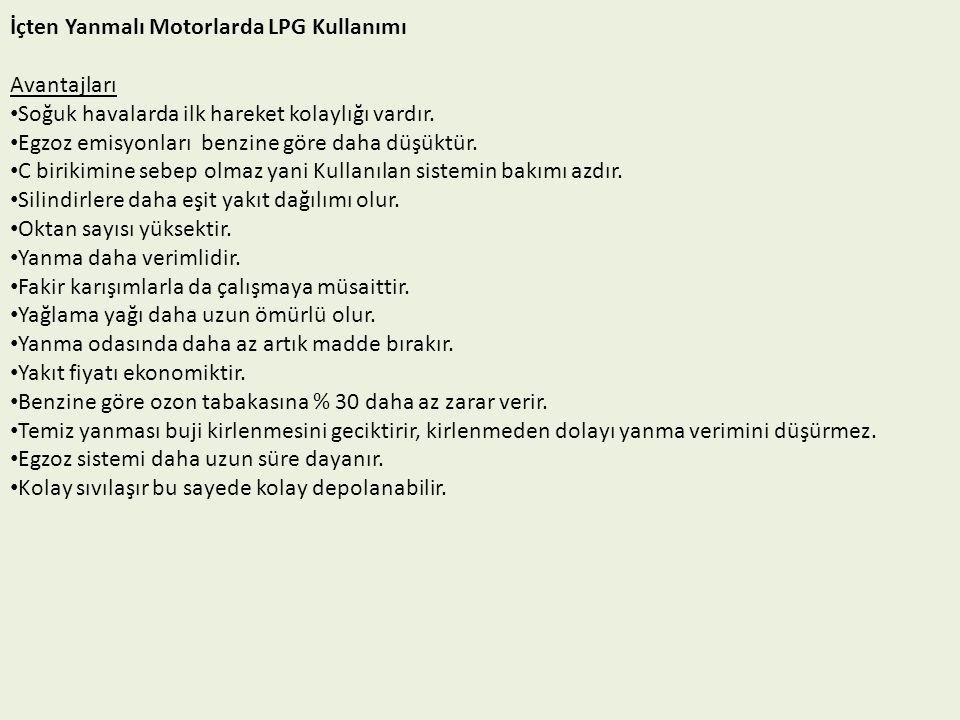 III. Nesil LPG Enjeksiyonlu Sistem