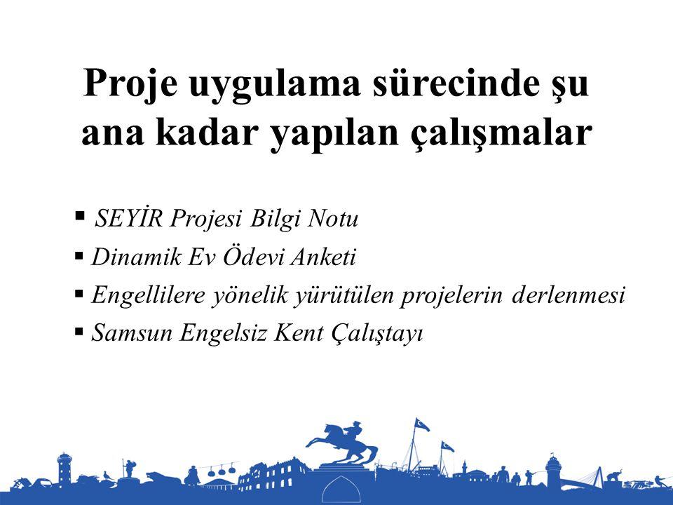 Samsun Engelsiz Kent Çalıştayı - Sunumların Kapsamı - Uygulama süreçlerine engellilerin katılımı - Ulaşılabilirlik/erişilebilirlik - Türkiye'de engelli bakışındaki değişim - Engelli ve Sen -Toplumsal algılamalarda değişim ve ayrımcılığın önlenmesi - Nasıl bir yönetim mekanizması ve nasıl bir yetki kullanımı olmalı -Eğitim ve istihdamda nasıl bir perspektif olmalı - Kişisel destek ve rehabilitasyon - Engelli hakları ve hakların bilinirliğinin artırılması -Atölye çalışması başlıkları 1.