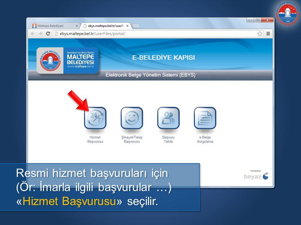 Başvuru nerede, hangi aşamada ve başka hangi işlemler yapılacak, görebilmek için web sitesinde «Başvuru Takibi» bölümü kullanılır.