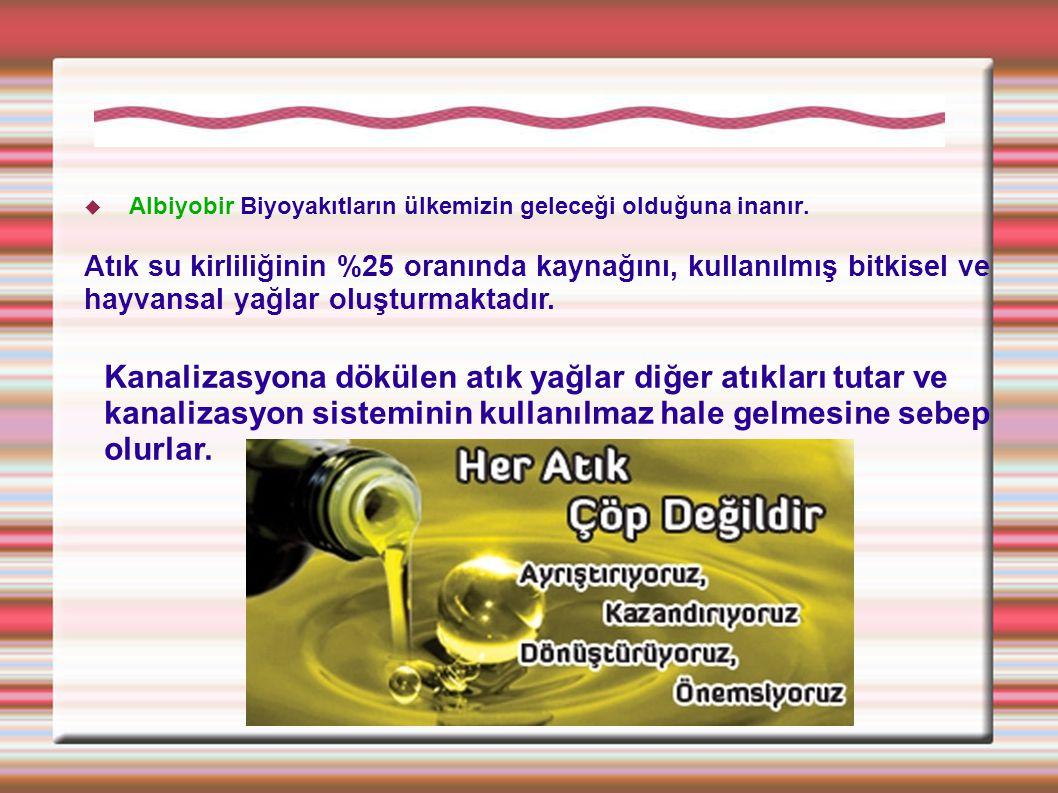 Biyoyakıtlar ve Biyodizel son iki yıldır Türkiye'de en çok tartışılan, adına toplantılar düzenlenen Sanayi, Tarım, Çevre, Ulaşım, Enerji boyutları olan ve herkesin hem fikir olduğu gibi ulusal ve stratejik bir konudur.
