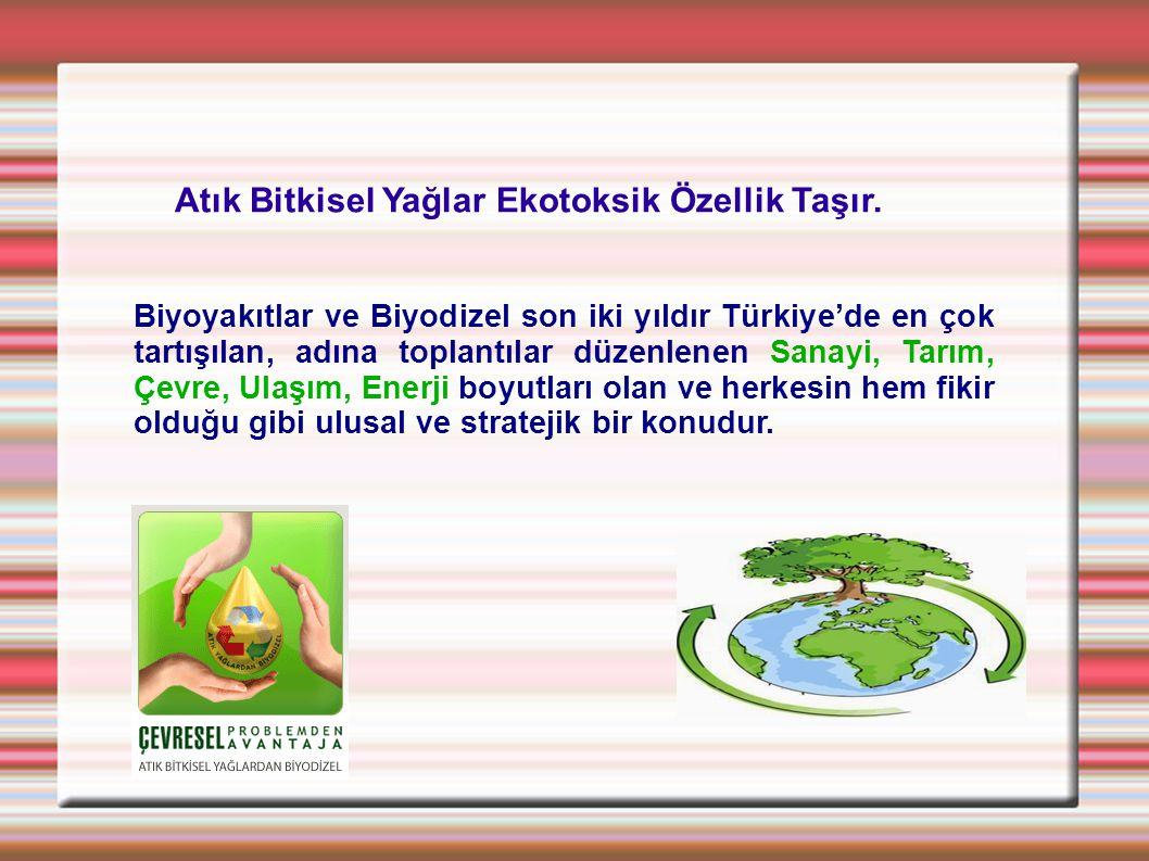Biyoyakıtlar ve Biyodizel son iki yıldır Türkiye'de en çok tartışılan, adına toplantılar düzenlenen Sanayi, Tarım, Çevre, Ulaşım, Enerji boyutları ola