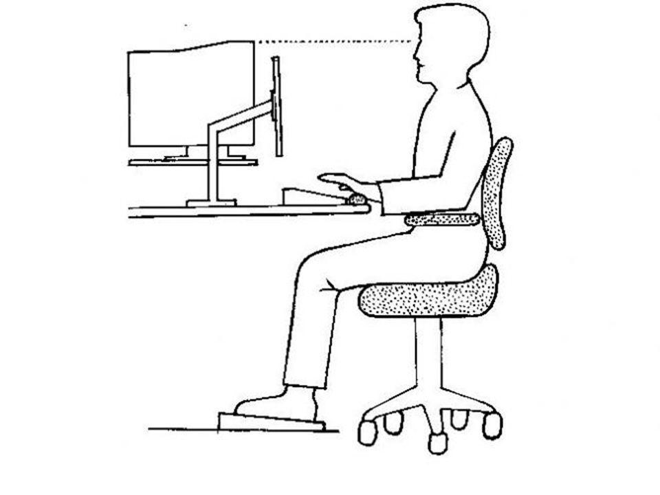 Sürekli oturarak çalışmaktan kaynaklabilecek diğer sorunlar Karın bölgesi kaslarında gevşemeler Özellikle öne eğik oturuşlardan kaynaklanan sindirim ve solunum sistemi sorunları Özellikle kadınlarda hava geçirmeyen sentetik kumaş ile kaplı oturma döşemesiden kaynaklanan inguinal bölge mantar enfeksiyonları