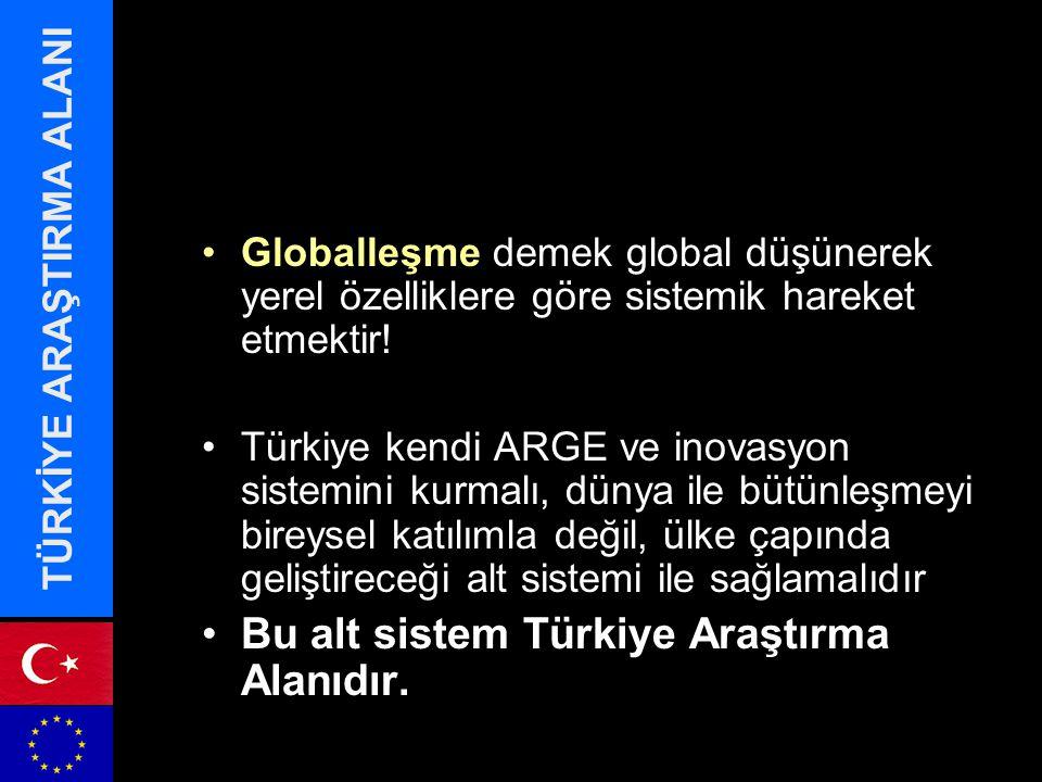 Globalleşme demek global düşünerek yerel özelliklere göre sistemik hareket etmektir.