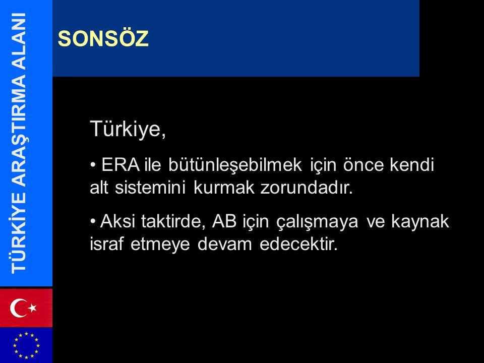 Türkiye, ERA ile bütünleşebilmek için önce kendi alt sistemini kurmak zorundadır.