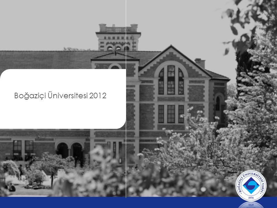 Akademik Hedefler »B.Ü.'nin akademik çeşitliliğine ve zenginliğine sahip çıkarak her bölümün kendi vizyonu ve Akademik Kimliği desteklenecektir.