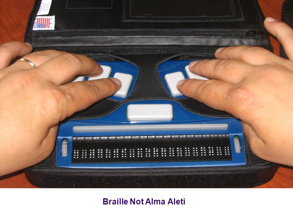 Braille Not Alma Aleti