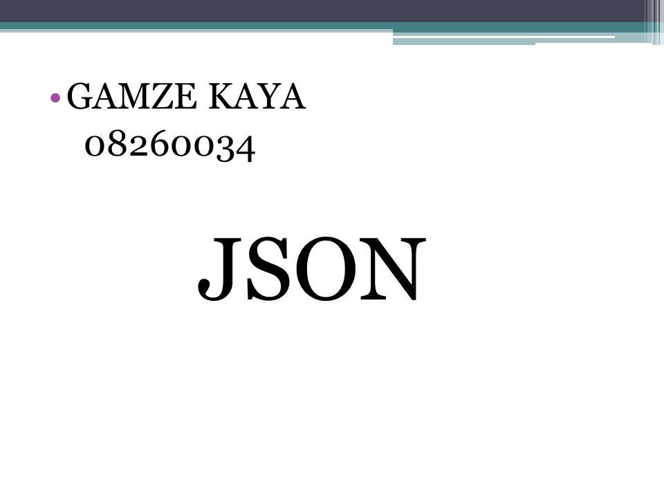 JSON( Javascript Object Notation ), Douglas Crockford tarafından hazırlanmış,veri alış- verişi amacıyla oluşturulmuş bir veri iletim formatıdır.