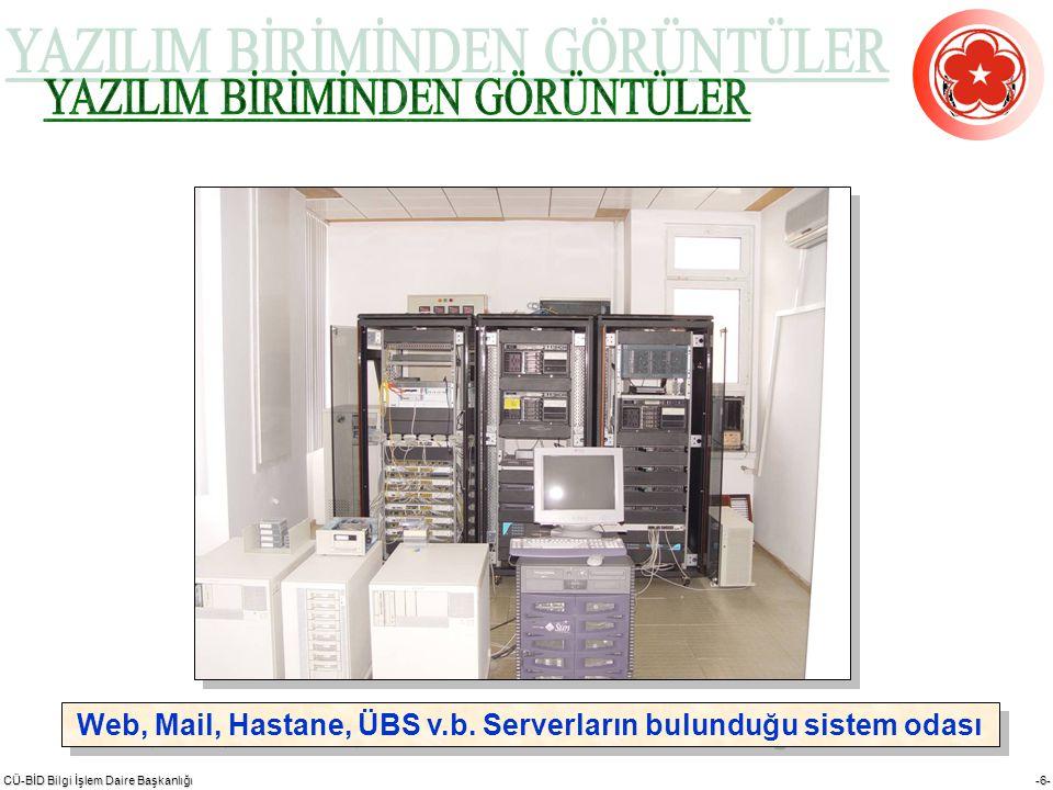 CÜ-BİD Bilgi İşlem Daire Başkanlığı -27-