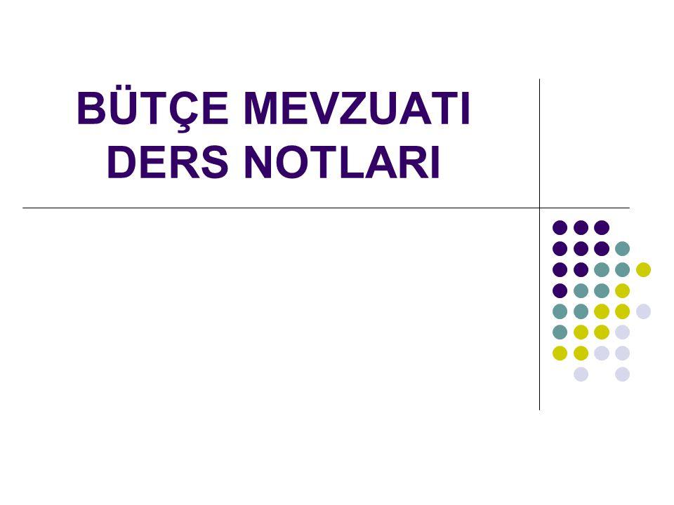 Orta Vadeli Program, Mali Plan Ve Bütçe Hazırlama Rehberi 5018 sayılı Kanun MADDE 16.- Maliye Bakanlığı, merkezi yönetim bütçe kanunu tasarısının hazırlanmasından ve bu amaçla ilgili kamu idareleri arasında koordinasyonun sağlanmasından sorumludur.