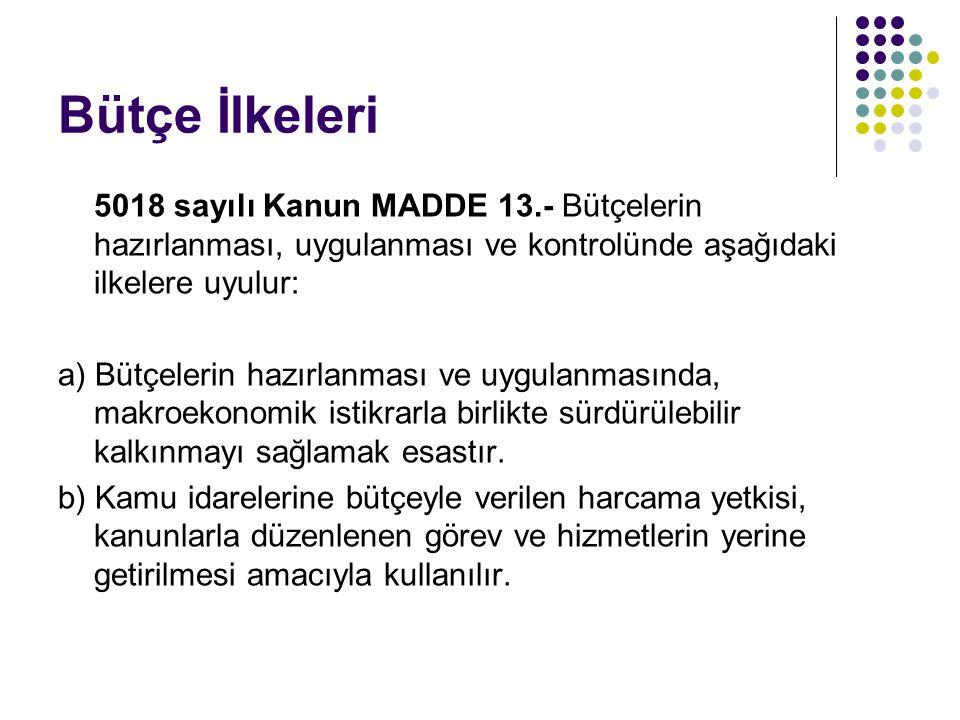 D.KESİNHESAP Anayasa MADDE 164.