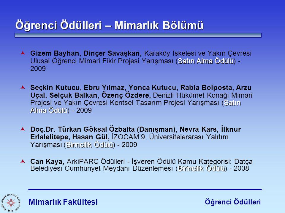 Satın Alma Ödülü  Gizem Bayhan, Dinçer Savaşkan, Karaköy İskelesi ve Yakın Çevresi Ulusal Öğrenci Mimari Fikir Projesi Yarışması (Satın Alma Ödülü) -